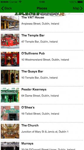 IrishGigs - We Love Irish Trad screenshots 1