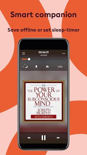 Storytel: Audiobooks and E-books 6.2.7 screenshots 2