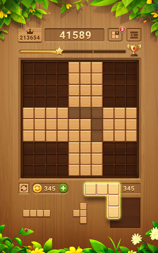 Wood Block Puzzle - Free Classic Block Puzzle Game 2.1.0 screenshots 15