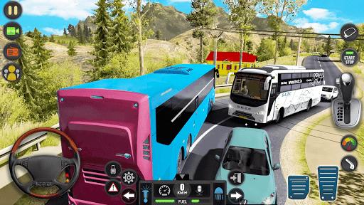 Télécharger Gratuit luxe touristique autobus conduirec Jeux Nouveau apk mod screenshots 2
