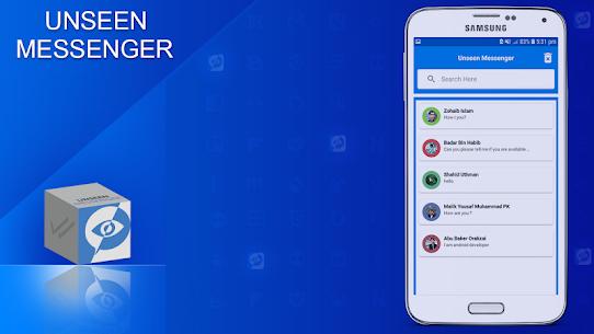 Hidden Chat, Hide Unseen Chat For Messenger 1