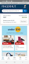 Fingerhut Mobile screenshot thumbnail
