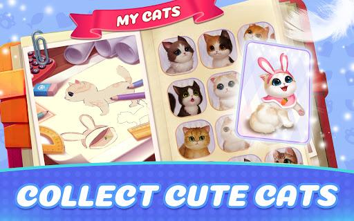 Kitten Match-Mansion & Pet Makeover  screenshots 2
