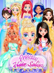 Girl Games: Princess Hair Salon Makeup Dress Up 1.9 Screenshots 9