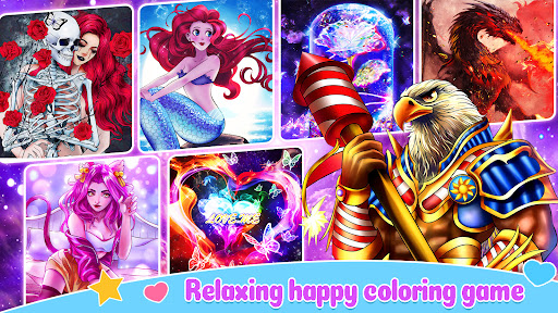 Fun Coloruff1aColoring Games & Happy Paint by Number apktram screenshots 8
