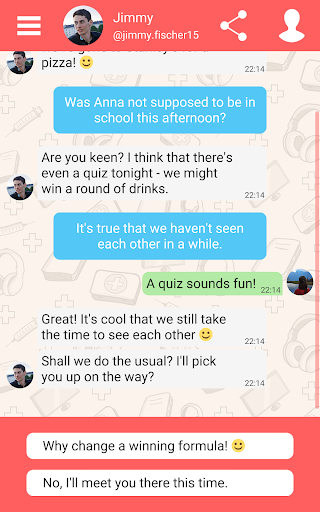 Hey Love Adam: Texting Game android2mod screenshots 12
