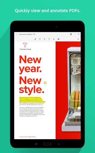 Adobe Acrobat Reader: PDF Viewer, Editor & Creator 21.2.0.17204 screenshots 10