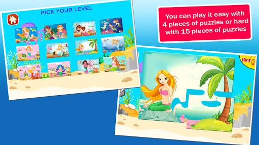 mermaid princess puzzles screenshot 3