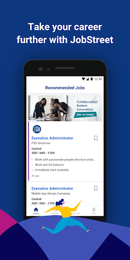 JobStreet - Build Your Career 5.4.5 Screenshots 1