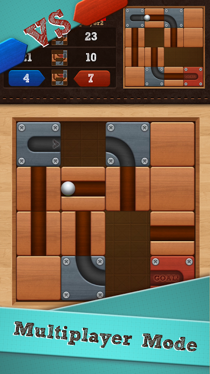 Roll the Ball® - slide puzzle  poster 13