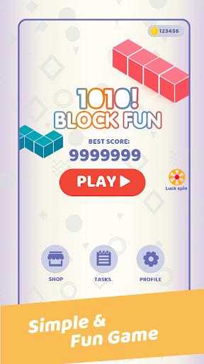 1010! Block Fun - Fun Block Puzzle Game  screenshots 1