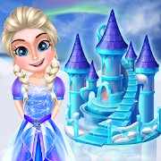 Ice Doll House Design: Decoration games