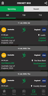 Cricket Box Fastest Live Line & Cricket Scores