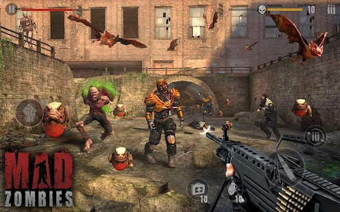 MAD ZOMBIES : Jeux de Zombie Capture d'écran