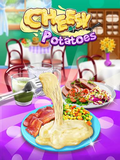 Cheesy Potatoes - New Year Trendy Cheesy Food screenshots 8