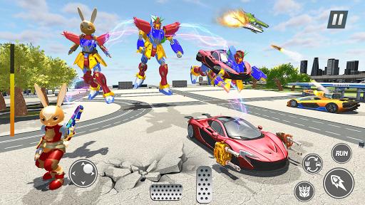 Bunny Jeep Robot Game: Robot Transforming Games  Screenshots 2