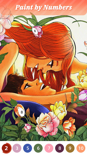 Flora Coloring: Color by Number Painting Game apklade screenshots 1