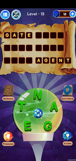 Word Wizard Puzzle - Connect Letters 4.1.7 screenshots 14