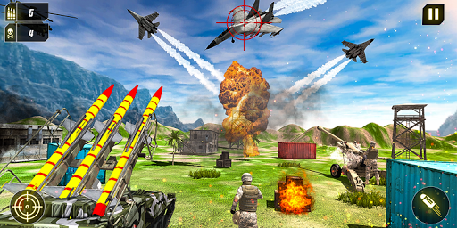 Military Missile Launcher:Sky Jet Warfare 1.0.8 screenshots 5
