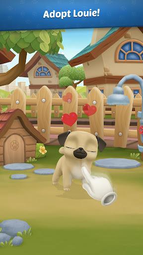 My Virtual Pet Dog ud83dudc3e Louie the Pug 1.9.1 screenshots 1