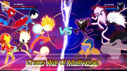 Super Stick Fight All-Star Hero: Chaos War Battle 2.1