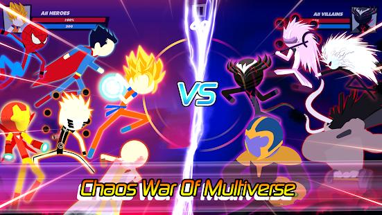 Super Stick Fight All-Star Hero: Chaos War Battle 2.0 Screenshots 1