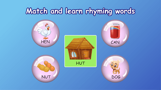 Kindergarten kids Learn Rhyming & Sight Word Games apkdebit screenshots 14