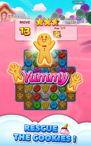 Sweet Road: Cookie Rescue Free Match 3 Puzzle Game screenshots 16