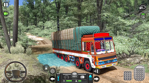 Real Mountain Cargo Truck Uphill Drive Simulator android2mod screenshots 4