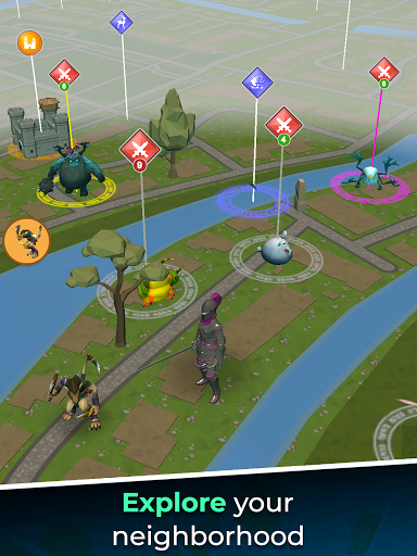 Magic Streets - Location based RPG 1.0.49 screenshots 17