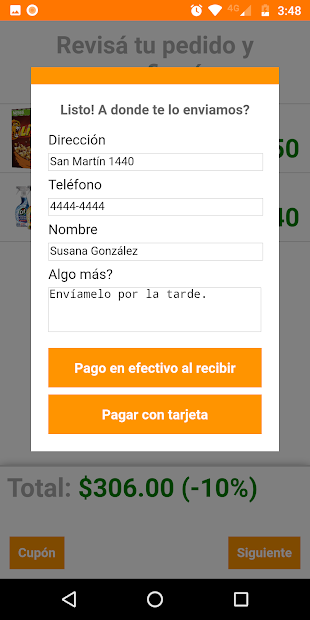 Screenshot 7 de Distribuidora Monarca para android
