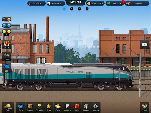 Train Station: Railroad Transport Line Simulator Apkfinish screenshots 13