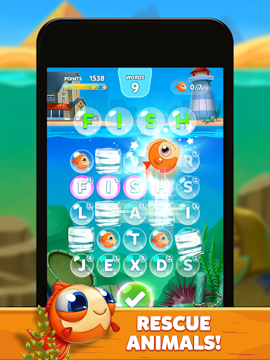 Bubble Words - Word Games Puzzle  screenshots 17