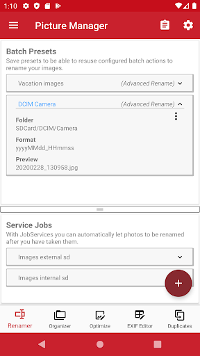 Picture Manager: Rename and Organize with EXIF modavailable screenshots 1