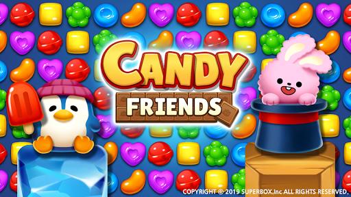 Candy Friendsu00ae : Match 3 Puzzle 1.1.4 screenshots 2