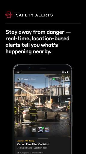 Citizen: Connect on the Most Powerful Safety App 0.1033.0 Screenshots 2