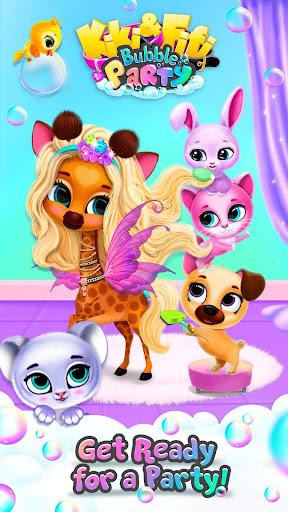 Kiki & Fifi Bubble Party - Fun with Virtual Pets  Screenshots 8