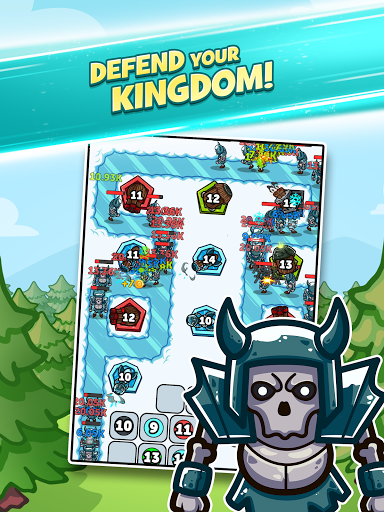 Merge Kingdoms - Tower Defense apkpoly screenshots 10