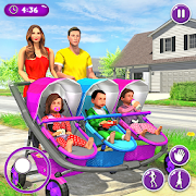 Real Mother Triplet Baby Daycare Family Simulator