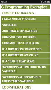 C Programming Examples 1