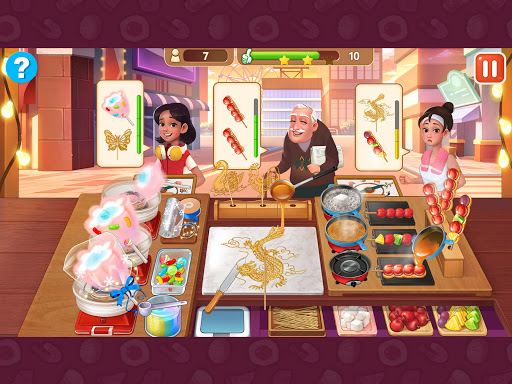 Breakfast Story: chef restaurant cooking games apkslow screenshots 9