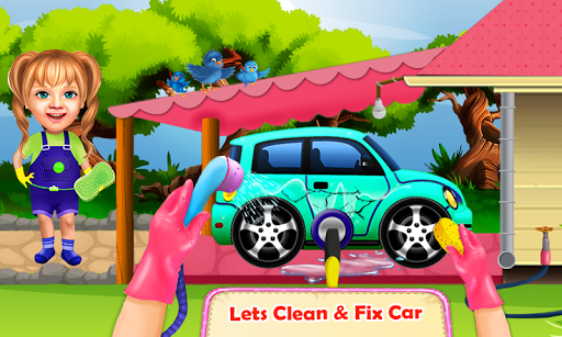 Sweet Baby Girl Cleaning Games 2021: House Cleanup screenshots 13