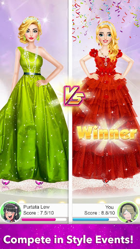 Model Fashion Red Carpet: Dress Up Game For Girls 0.4 screenshots 6