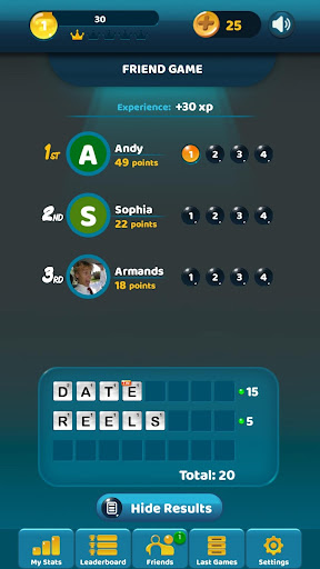 Puzzly Words: online word game 10.5.4 screenshots 6