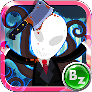 Beat Slenderman in Forest. Horror Tamagotchi Game  Icon