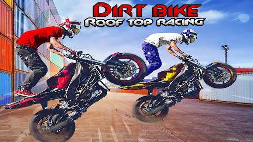 Dirt Bike Roof Top Racing Motocross ATV race games  Pc-softi 1