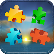 Puzzles for adults sunset