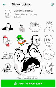 Classic Memes Stickers for WhatsApp WAStickerApps Apk Download 2021 2