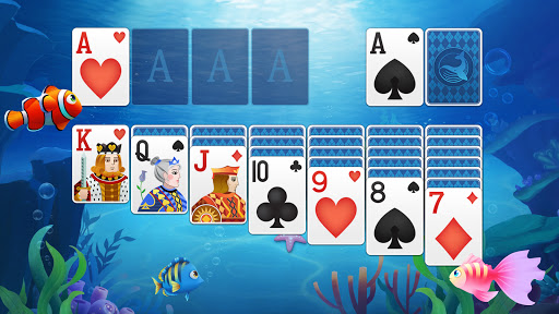 Solitaire Fish - Classic Klondike Card Game android2mod screenshots 7