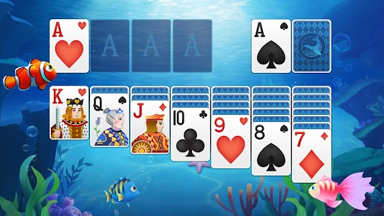 Solitaire Fish – Classic Klondike Card Game 7
